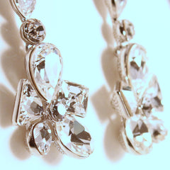 Isa -swarovski chandelier drop earrings