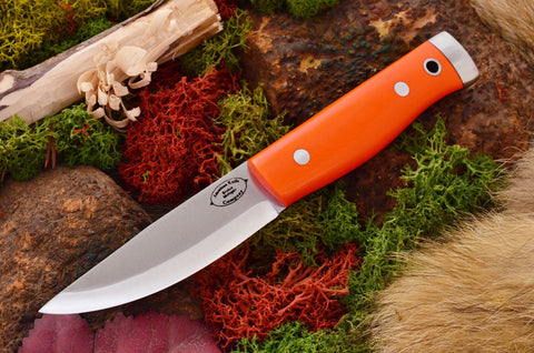 Compact Forest Knife Blaze Orange G10