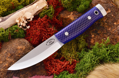 Compact Forest Knife  Blue Ctek