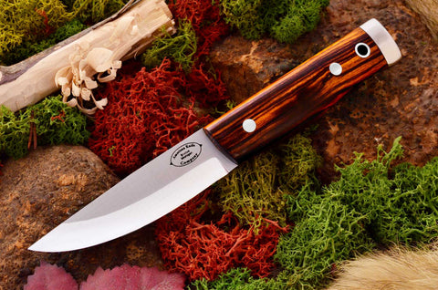 Compact Forest Knife Desert Ironwood