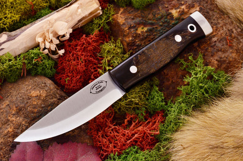 Compact Forest Knife Rough out Buffalo