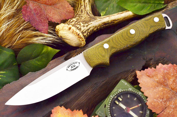 Shenandoah - Green Canvas Micarta