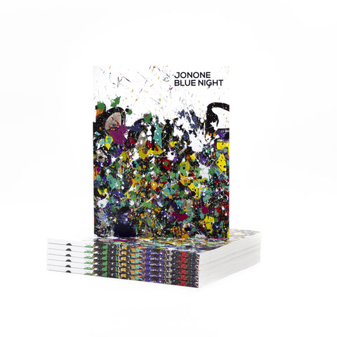 JONONE - BLUE NIGHT - EXHIBITION CATALOGUE - LIMITED EDITION