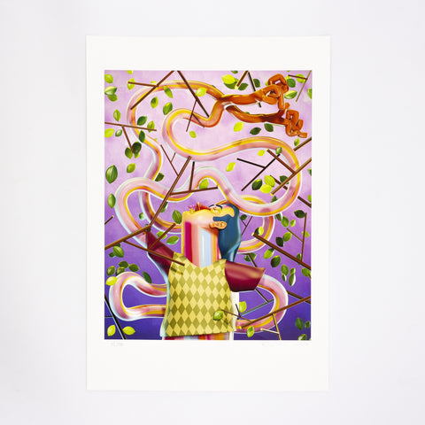 ÁKOS EZER - REACHING - FINE ART PRINT - LIMITED EDITION