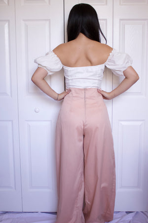 Sherri High Waisted Pleated Pants