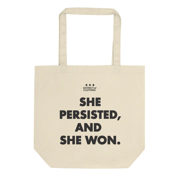 Persisted and Won Eco Tote