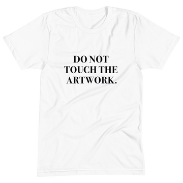 Do Not Touch - #MeToo T-Shirt - S | District of Clothing - Inspiration Apparel | Black Owned Business