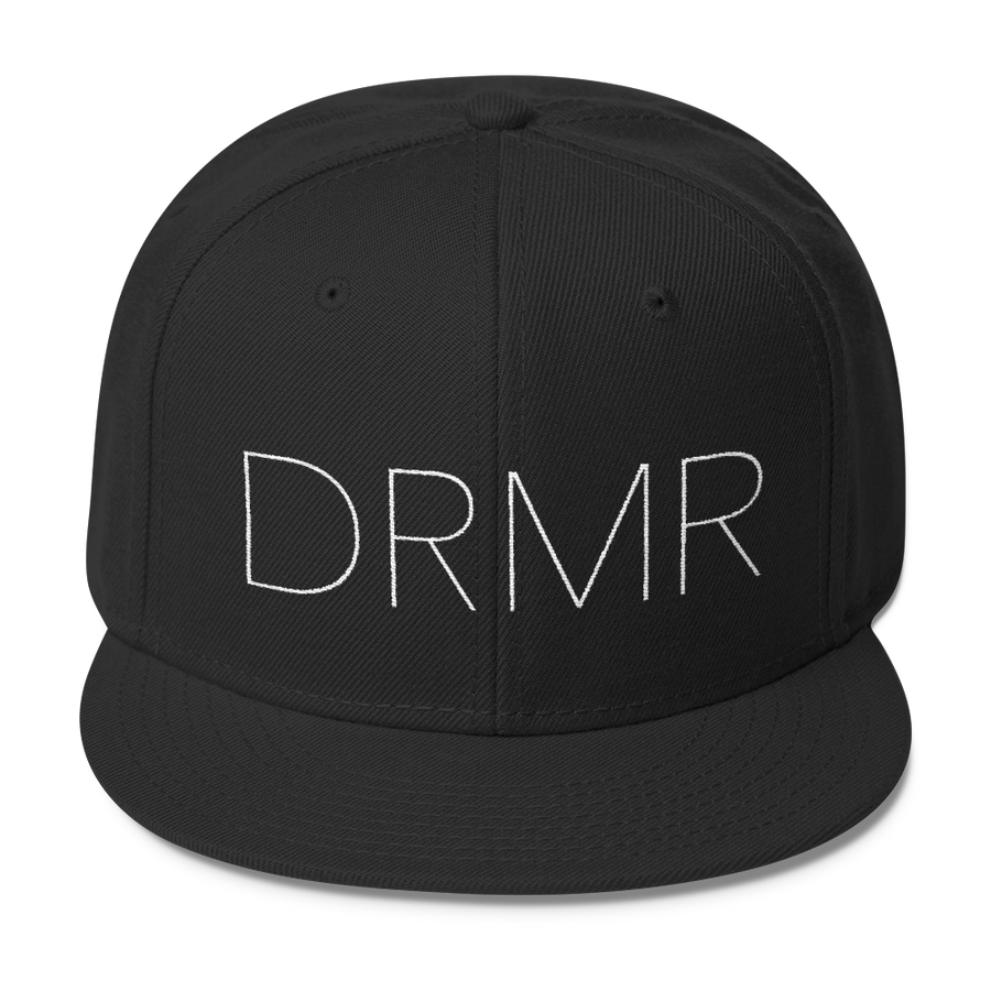 DRMR - Inspirational Activism Hats - Black | District of Clothing - Activist Lifestyle Apparel | Black Owned Business