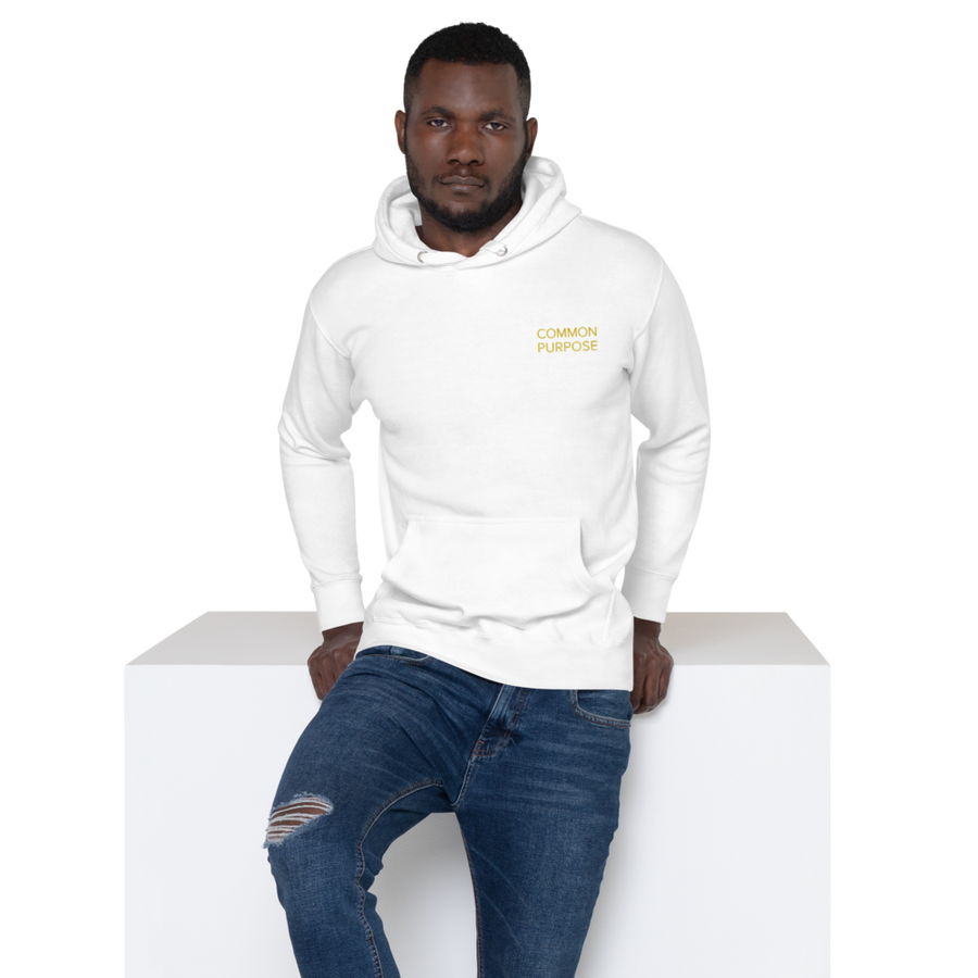 Common Purpose Hoodie - Inspirational Sayings Sweatshirt - | District of Clothing - Positive Message Clothing | Black Owned Clothing Company