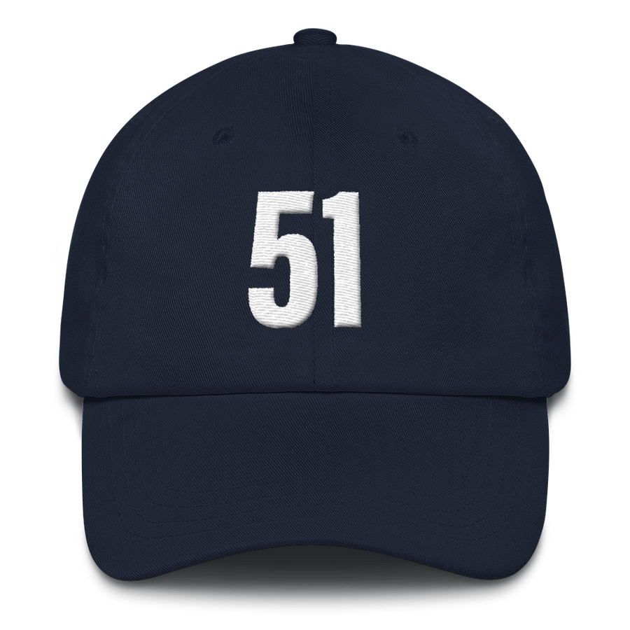 51 - Washington D.C. Statehood Hats - Navy | District of Clothing - DC 51st State T-Shirts & Hats | Black Owned Business