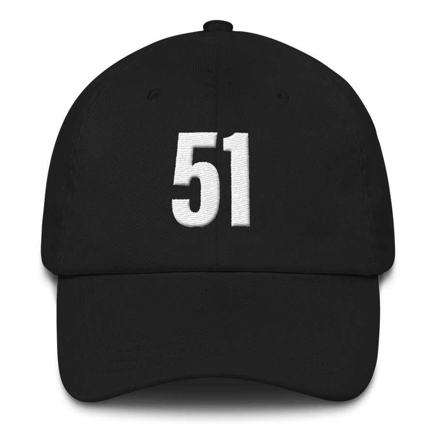 51 - Washington D.C. Themed Hats - Black | District of Clothing - DC Statehood Apparel | Woman Owned Business