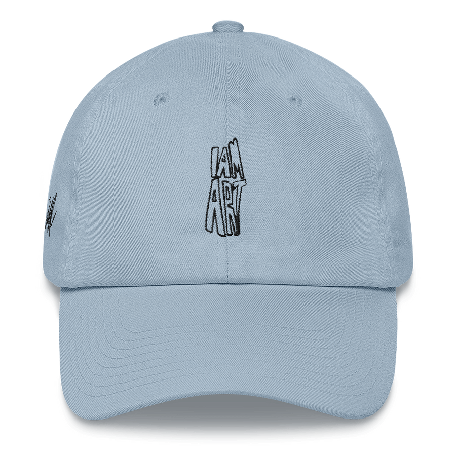 I Am Art hat - Inspirational Sayings - Light Blue | District of Clothing - Inspire Clothing | Woman Owned Business
