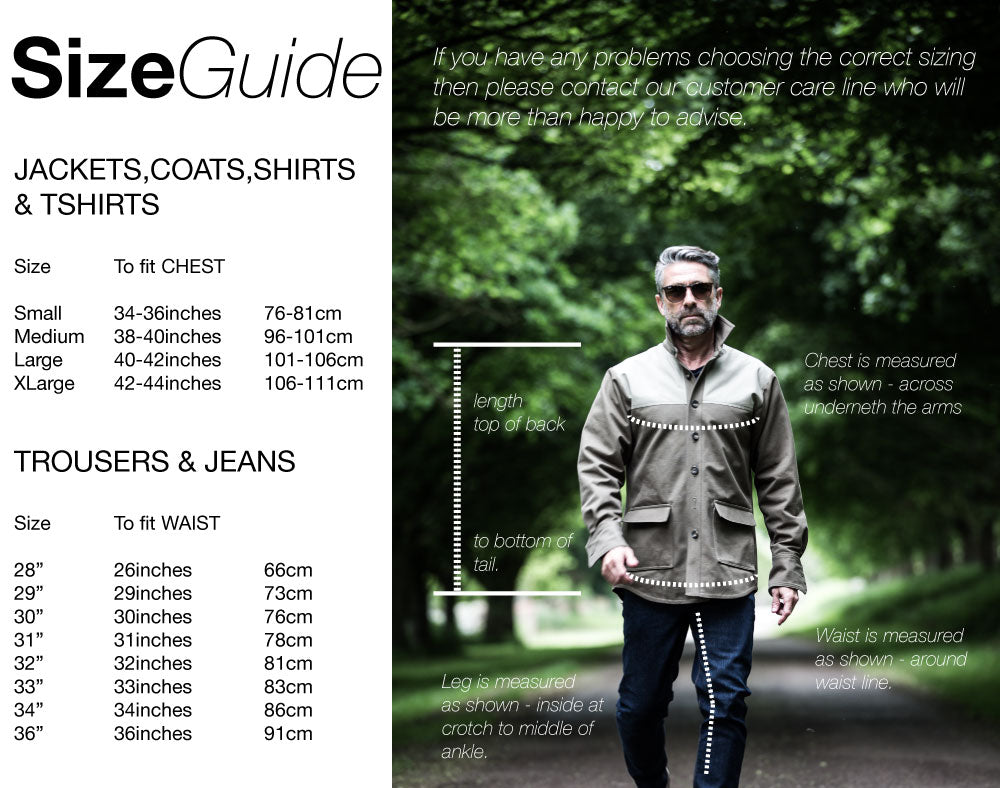 Mountain White Fit & Size Guide