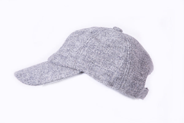 Classic Harris Tweed Baseball Cap