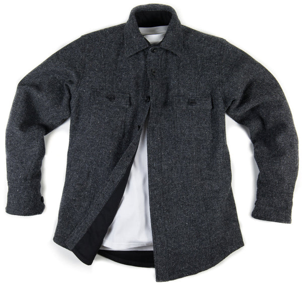 Mountain White Harris Tweed Outershirt