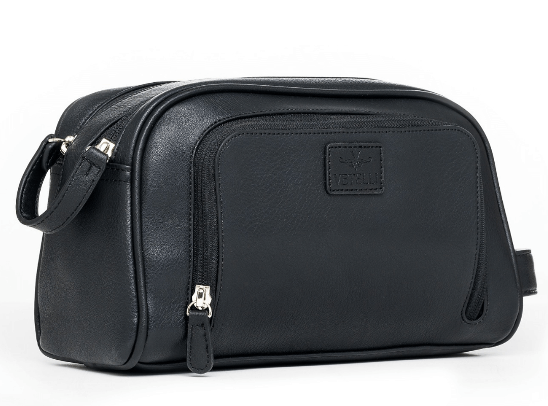 The Vetelli Gio Men's Dopp Kit Perfect For Adventurers and Traveler's