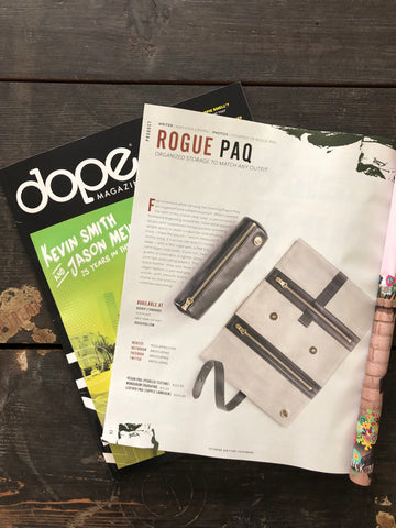 Rogue Paq feature in Dope Magazine