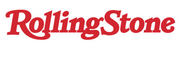 Rolling Stone Logo, Red Font, White Background