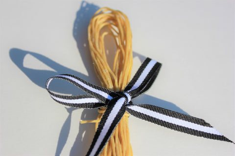 Organic Hemp Wick Coated With Organic Beeswax 20ft