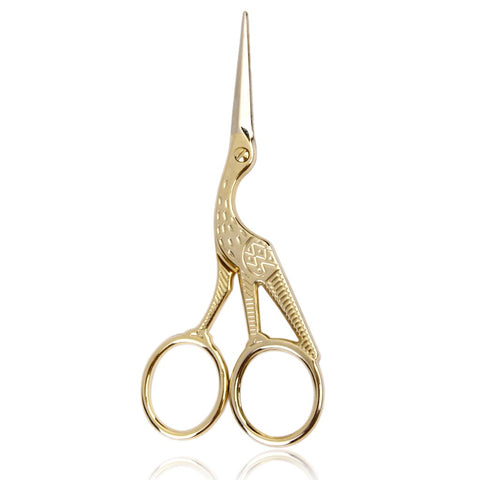 Gold Crane Bud Trimming Scissors, Rogue Paq