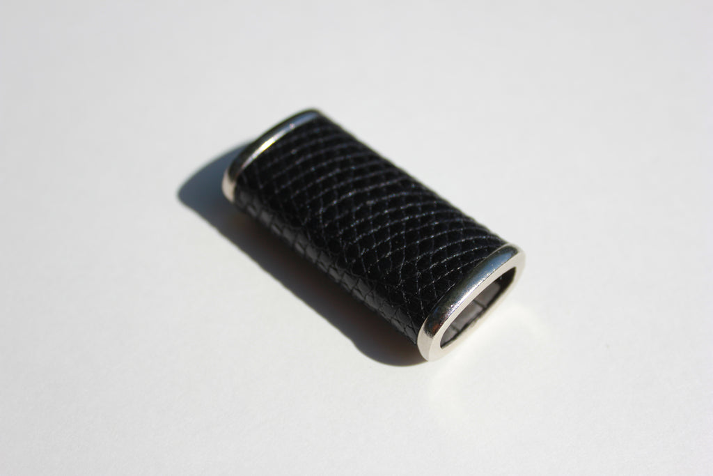 Rogue Paq Black python bic lighter by Haus of Topper