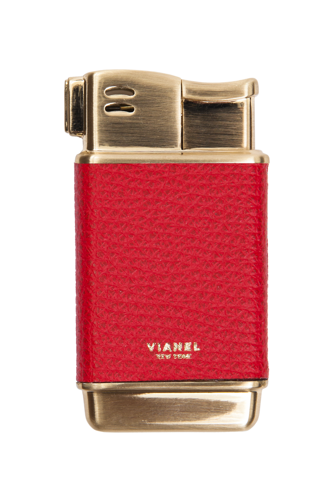 Rogue Paq x Vianel Gold Tone Refillable Lighters: The Colors