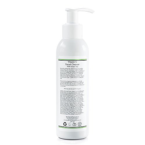 Vitamin C Facial Cleanser with Green Tea