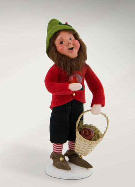 Gene - Christmas Elf with Apples