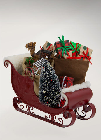Sleigh Filled with Toys