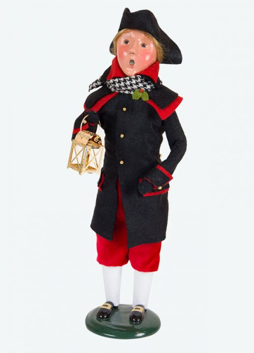 Colonial Man Red/Black