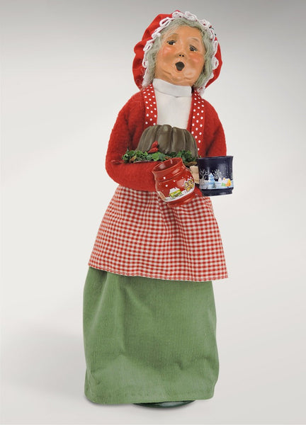 Mrs Claus with Treats