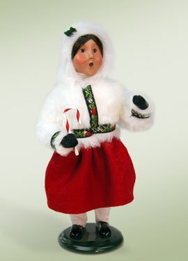 Polar Girl with Candy Cane