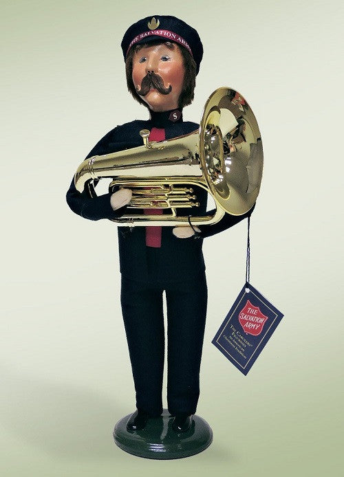 Salvation Army Man with Tuba