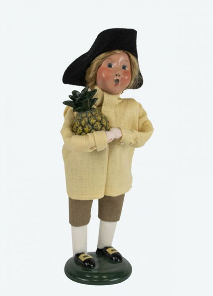Colonial Boy with Pineapple