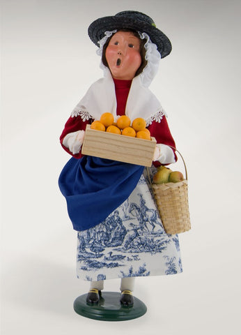 Woman Fruit Vendor
