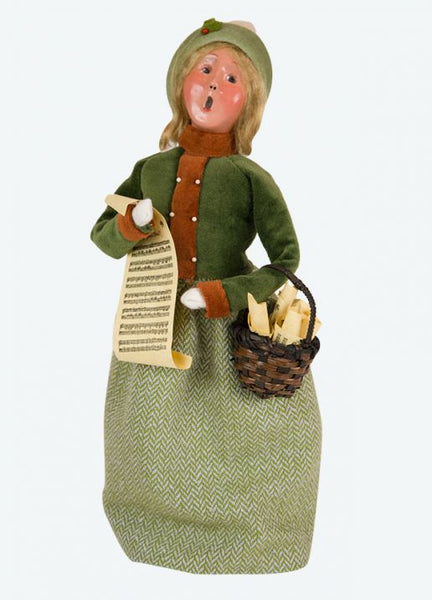 Musical Family  woman with Music Sheet