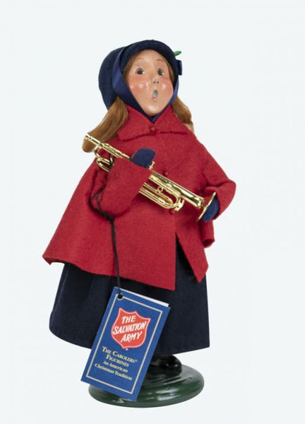 Salvation Army Girl with Horn