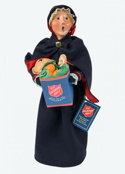 Salvation Army Woman Shopper