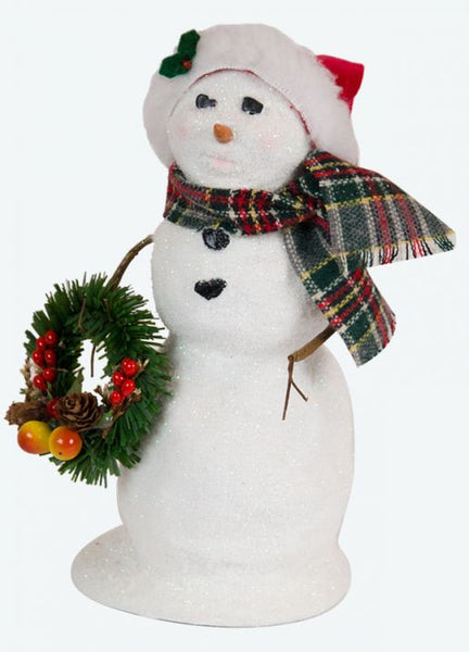 Snowman with Wreath (L)
