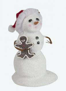 Snowman with Gingerbread
