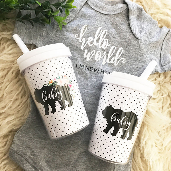 Baby Bear Sippy Cup | Shower Gift | 119 Gift Co.
