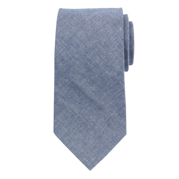 Personalized Chambray Tie | Gift for Him