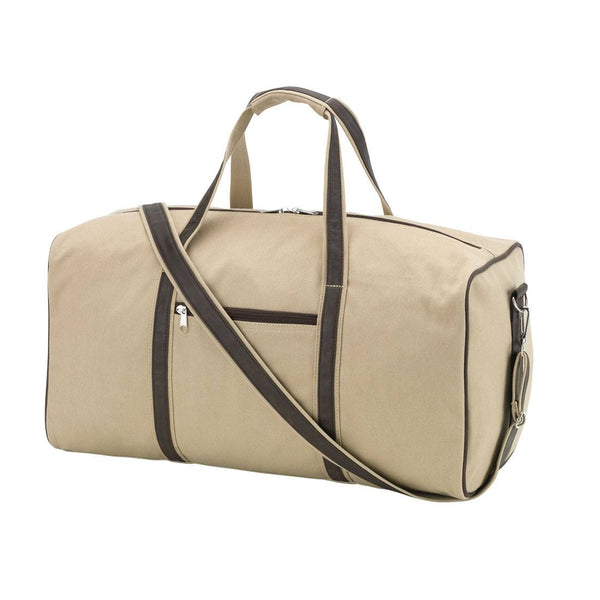 Men's Canvas Duffel Bag | Plain or Personalized | 119 Gift Co.