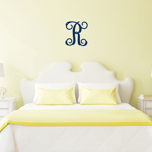 Single Initial Wooden Monogram | 2 Sizes
