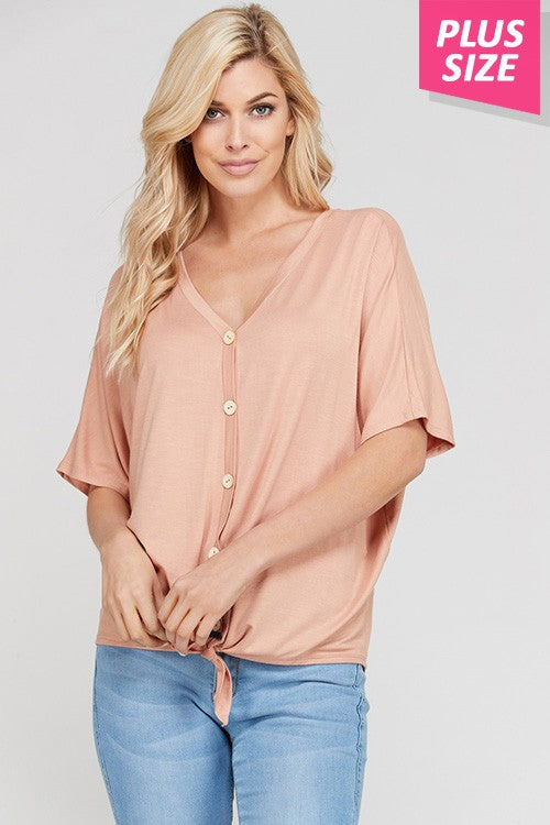 Lilly Top Khaki