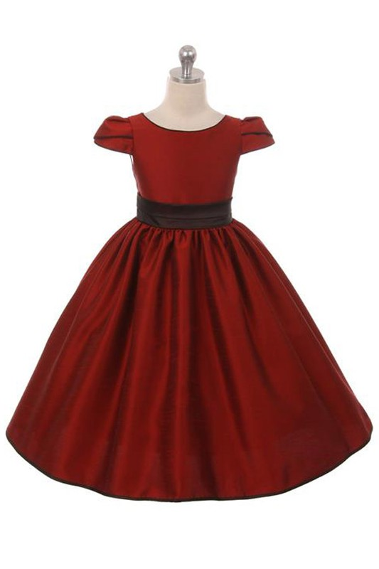 Elizabeth Girls Dress Red