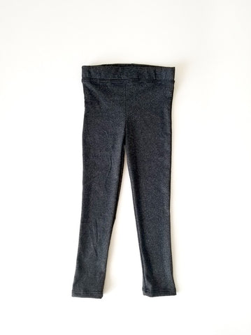 Girls Leggings Heather Charcoal