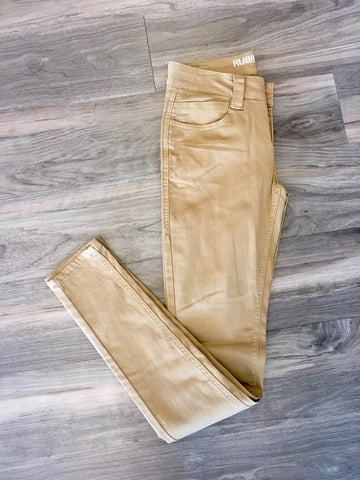 Rubberband Sarina Skinny Pant Honey