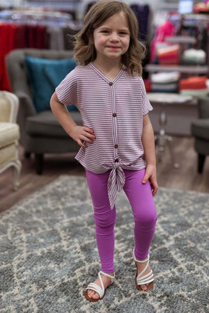 Lil' Purple Leggings