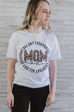 Mom Mode Graphic Tee